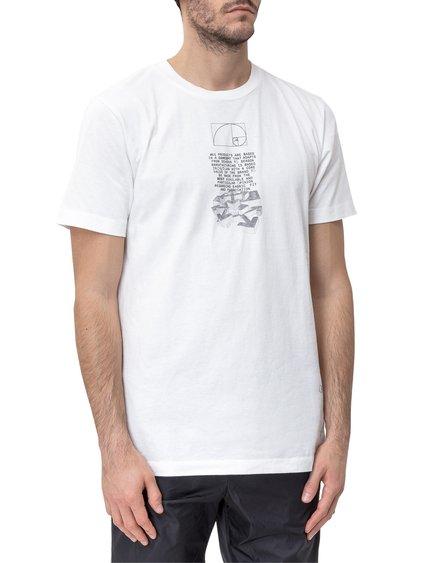 Dripping Arrows Crewneck T-Shirt image