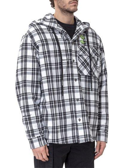 Hooded Check Shirt image