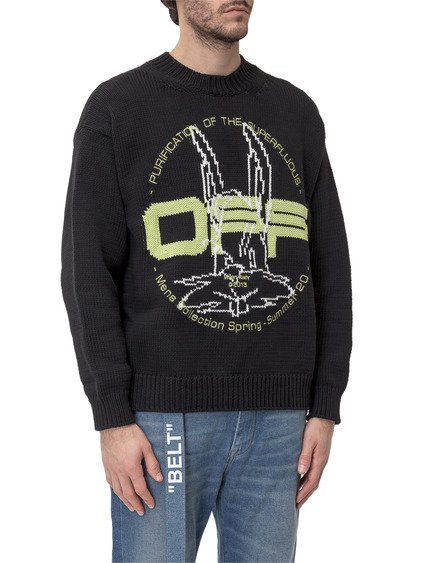 Harry the Bunny Crewneck Sweater image