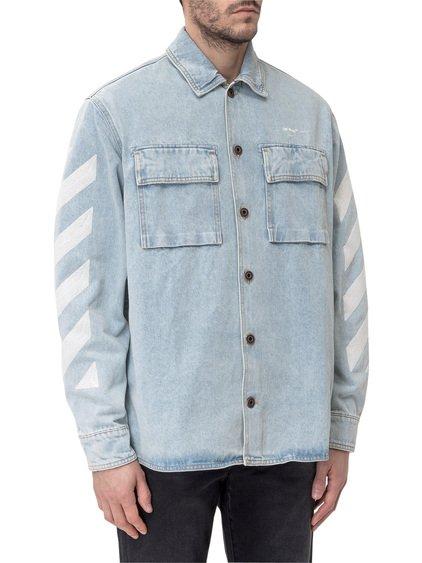 Oversize Shirt with Diagonal image