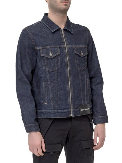 Zipped Denim Jacket image