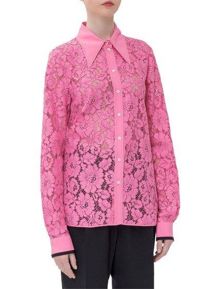 Macramé Lace Shirt image