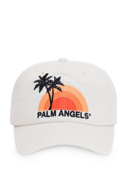Baseball Hat with Sunset Embroidery image