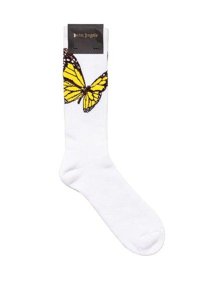 Butterfly Socks image