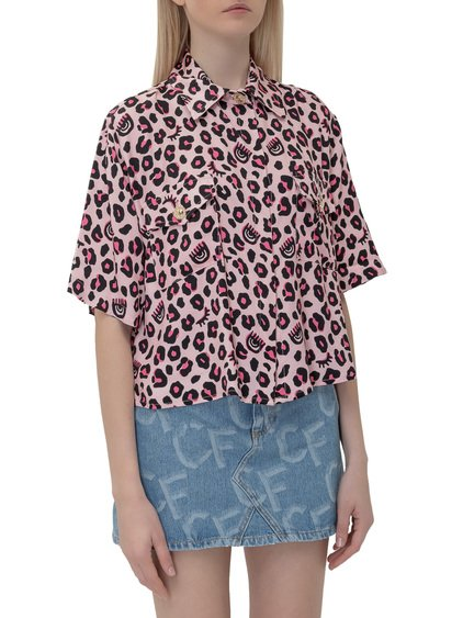 Shirt with Leopard Print image