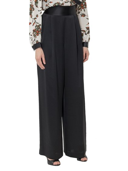 Satin Trousers image