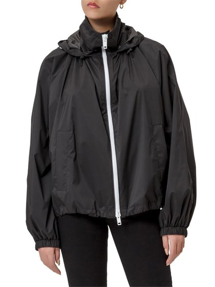 Hooded Nylon Windbreaker image