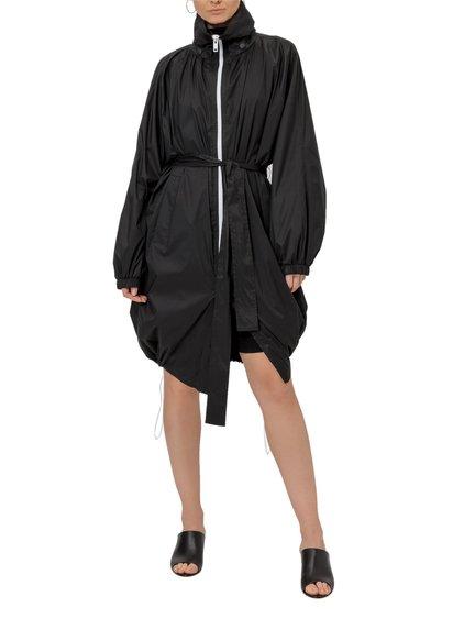 Lightweight Nylon Hooded Windbreaker image