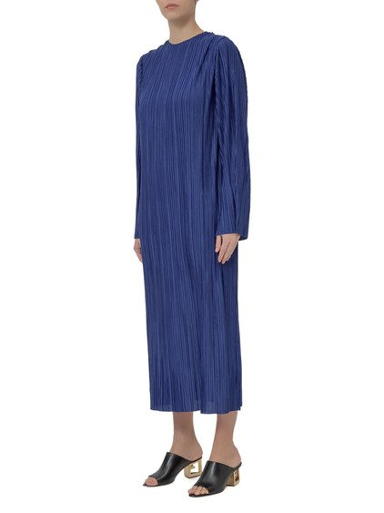 Jersey Pleated Long Dress image
