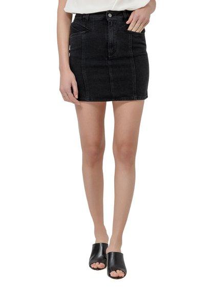 Denim Mini Skirt image