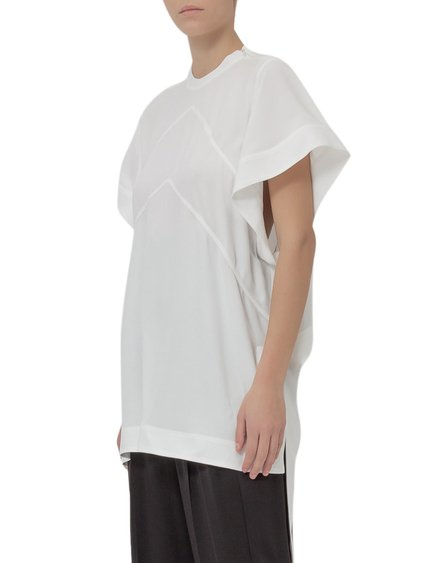 Crepe Top with Ribbons image