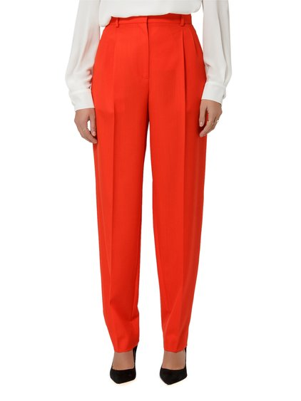 Wide Wool Trousers image