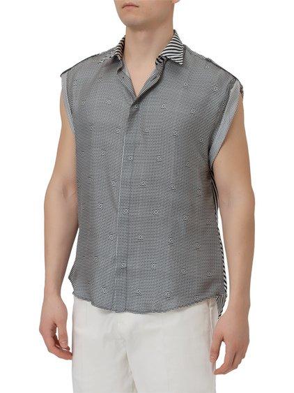 Silk Double Pattern Shirt image