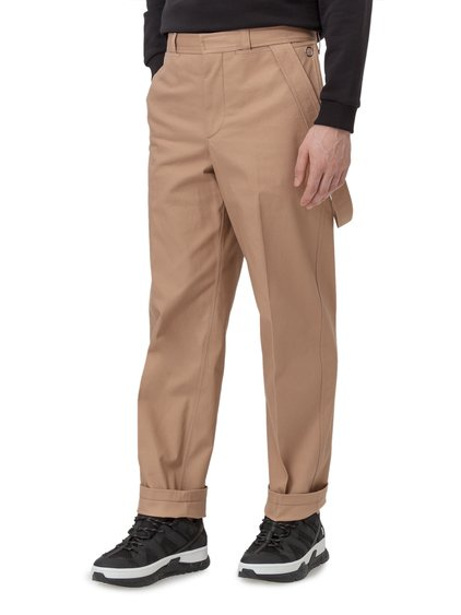 Cotton Trousers with Strap image