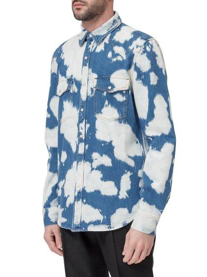 Bleached Denim Shirt image