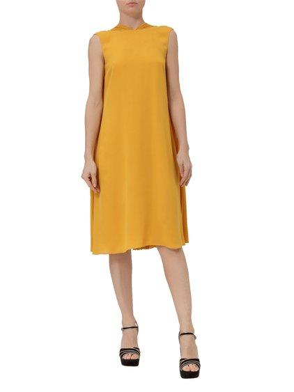 Georgette Silk Midi Dress image
