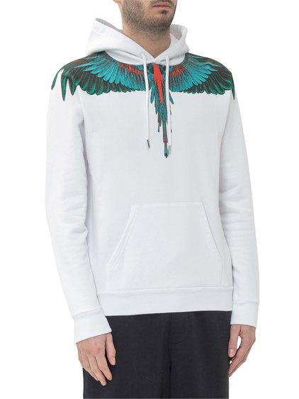 Green Wings Hoodie image