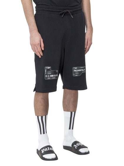 Patch Elastic Short Sweatpants image