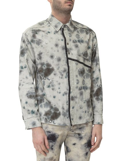 A Cold Wall x Diesel Red Tag Stain Print Shirt image