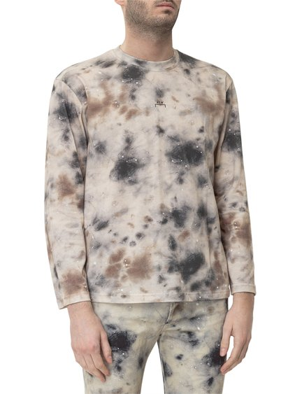 A Cold Wall x Diesel Red Tag Stain Print Long Sleeves T-Shirt image