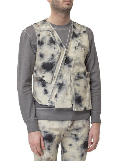 A Cold Wall x Diesel Red Tag Stain Print Vest image