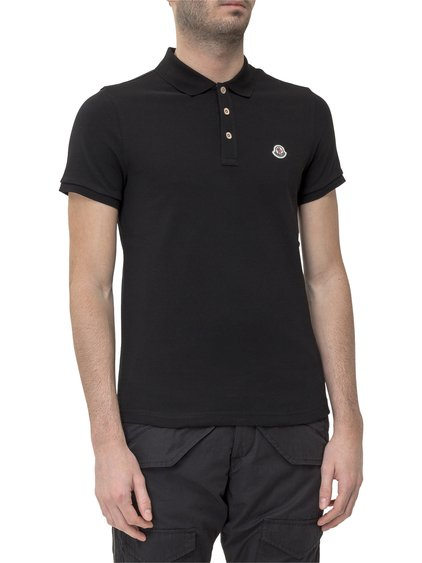 Polo Shirt with Logo Patch image