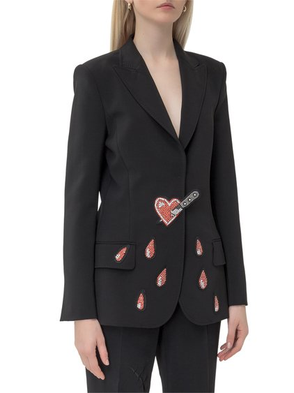 Blazer with Applications image