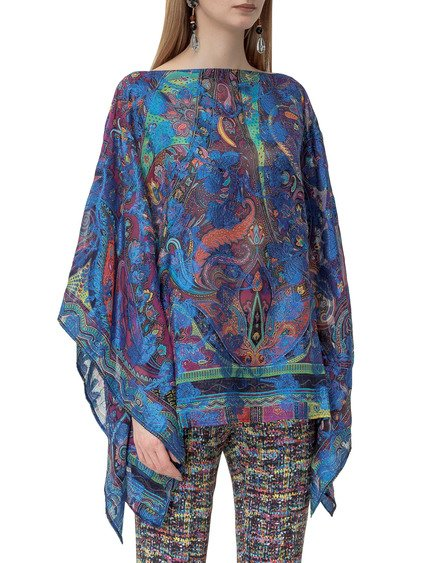Poncho with Print image