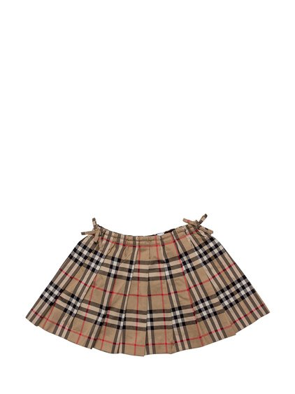 Checked Pleated Skirt image