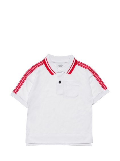 Polo with Logoed Bands image
