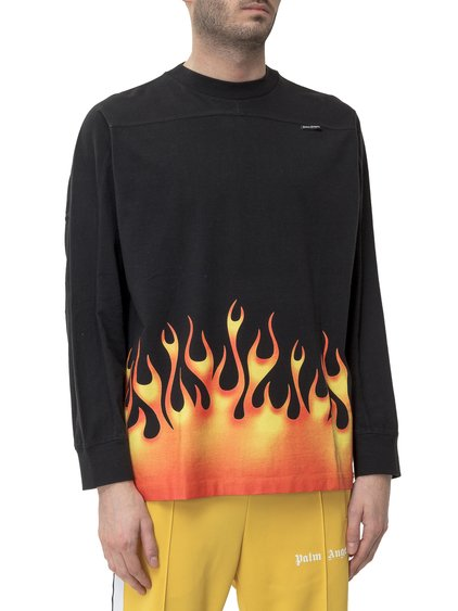 Burning Logo T-shirt image