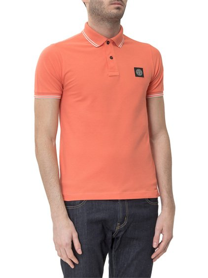 Polo with Logo Patch image
