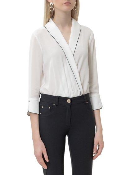 Bodysuit with V-neck image