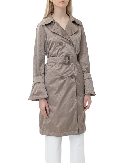 Trench Coat with Logo image