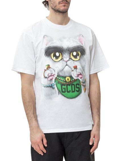 Huge Cat T-shirt image