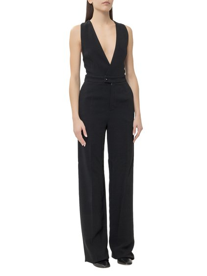 Jumpsuit with V-Neck image