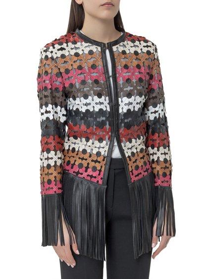 Jacket with Fringes image