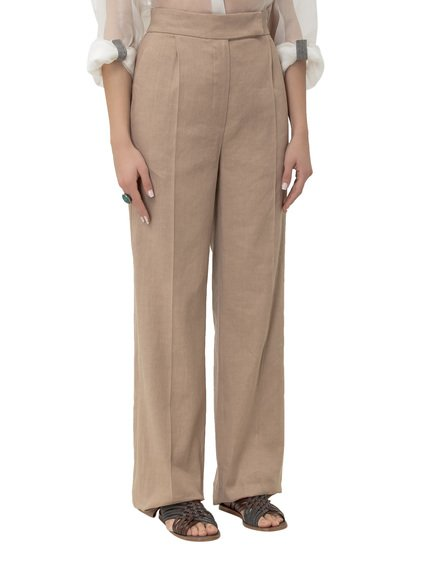 Trousers with Pleats image