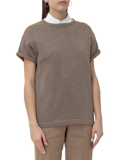 Pullover with Short Sleeves image