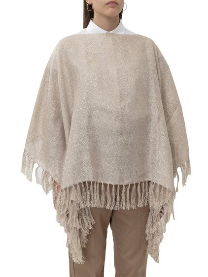 Poncho with Fringes image