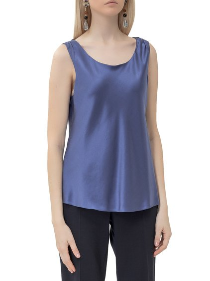 Top with Rounded Neckline image