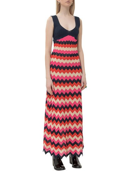 Dress with V-neck image