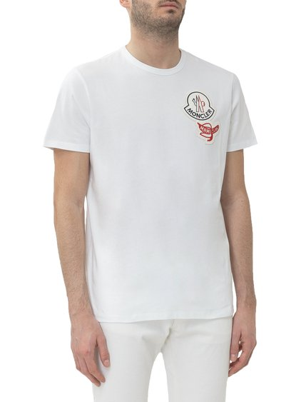 2 Moncler 1952 T-shirt with Logo Patch image
