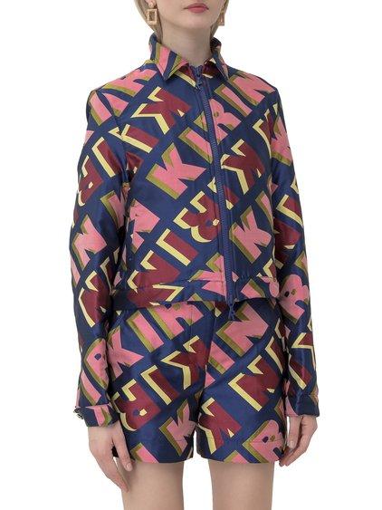 Typo Bomber Jacket image