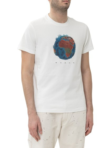 T-shirt with Embroiedy image