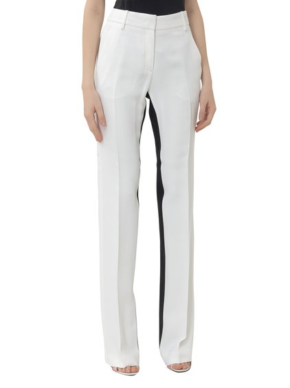Trousers with Contrast Bands image