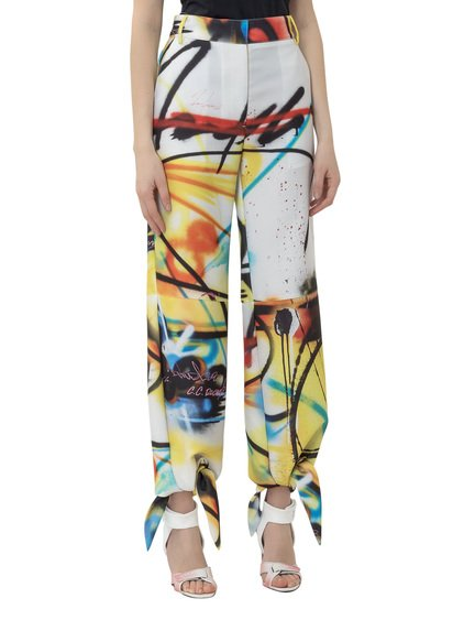 Futura Spray Bow Trousers image
