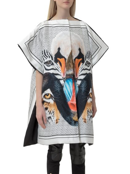 Cape with Animalia Print image