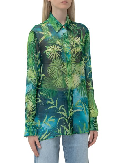 Shirt wirh Jungle Print image