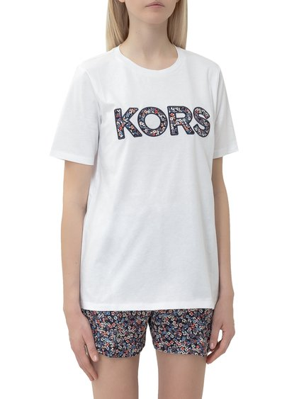 T-shirt with Embroidered Logo image